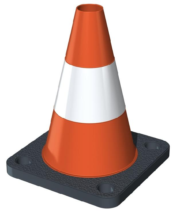 Construction Cone | Beautiful Scenery Photography